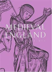 Book Cover - Title in white lettering over a black drawing of a medieval knight against a light violet background.
