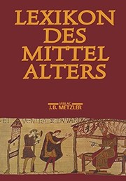 Book Cover - Title in gold lettering above an illustration of medieval people against a dark auburn background.
